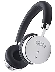 Diskin Premium Bluetooth Wireless Headphones with Built in Microphone and Noise Cancelling Hands…