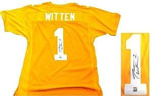 Jason Witten Autographed Signed Tennessee Volunteers Orange Custom NCAA Jersey by Radtke+Sports
