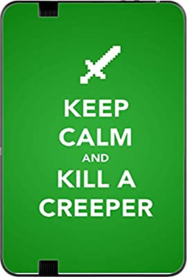Keep Calm Kill Creepers Art Kindle Fire HD 8.9in Vinyl Decal Sticker Skin by MWCustoms
