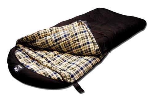 Incredible Grizzly 50 Degree Canvas Sleeping Bag Black Irta Olivas Machost Co Dining Chair Design Ideas Machostcouk