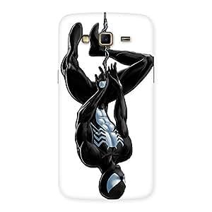 Enticing Black Web Multicolor Back Case Cover for Samsung Galaxy Grand 2