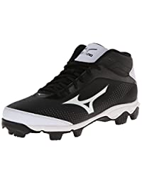 Mizuno Men's 9-Spike Franchise 7 Mid Baseball Cleat