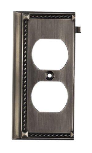 Elk 2506Ap Antique Platinum End Switch Plate front-79876