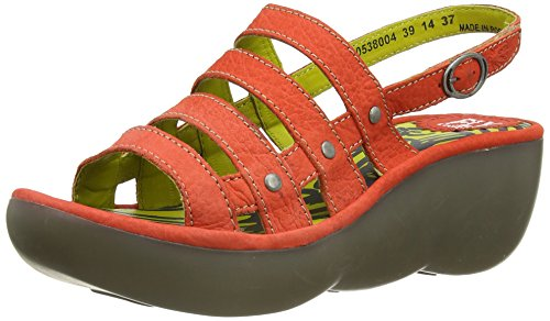 Fly London - Bris, Sandali da donna, rosso (red  (devilred)), 41