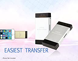 Aimica iOS-Device Flash Drive with Dual Storage TF SD Card Reader For iPhones, iPads & Computers