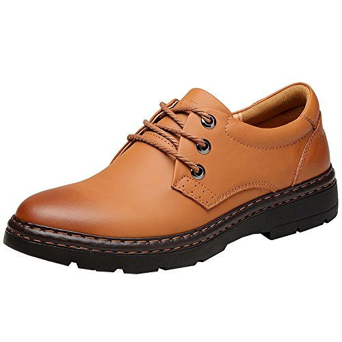 imayson-mens-lace-up-business-suede-oxfords-low-top-leather-shoes-uk-75-color-brown