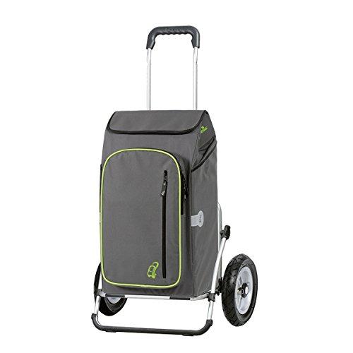 Andersen-Royal-XXL-Einkaufstrolley-luftbereifte-Rder-abnehmbare-Einkaufstasche-TOTO-Grau-Khlfach-3-Jahre-Garantie