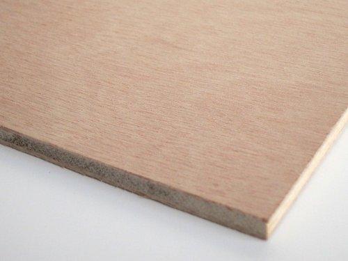 ベニヤ板(普通合板)600×900mm 厚み5.5mm (0.55cm) JAS F☆☆☆☆合板【正規品】