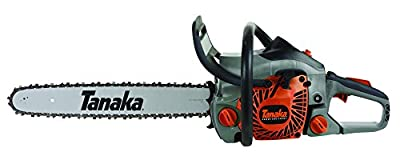Tanaka TCS33EB/16S 32 CC Rear Handle Chain Saw with 16-Inch Sprocket Nose Bar and Chain