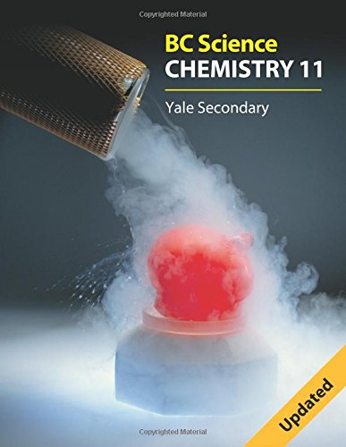 Bc Science Chemistry 11: Yale Secondary