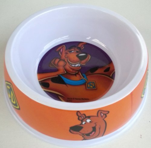 Hanna-Barbera Scooby Doo Dog Pet Food Or Water Dish ~ Orange