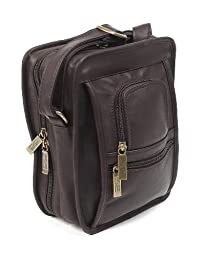 Claire Chase Ultimate Man Bag, Cafe, One Size