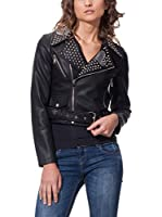 OSLEY PARIS Chaqueta Biker With Studs (Negro)