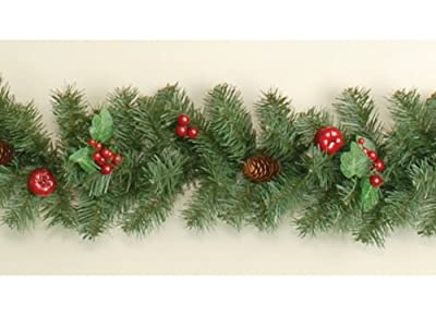 6ft (180cm) Christmas Garland with Berries