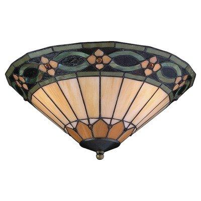 Two Light Ceiling Fan Light Kit Bulb Type: Medium Base CFL