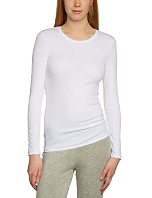 HANRO Damen Unterhemd NA, 1891 / Fine Line Shirt 1/1 Arm by HANRO Deutschland GmbH