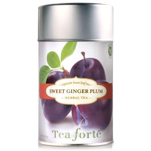 Tea Forte Loose Leaf Tea Canister- Sweet Ginger Plum