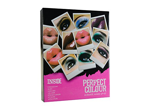 Jigsaw Perfect Colour Ultimate Make Up Kit Confezione Regalo 30 Pezzi (Bronzer + Fard + Ombretti + M