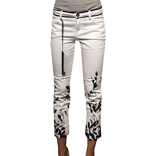 83139 pantaloni capri BLUMARINE 5 TASCHE jeans donna trousers women [38]