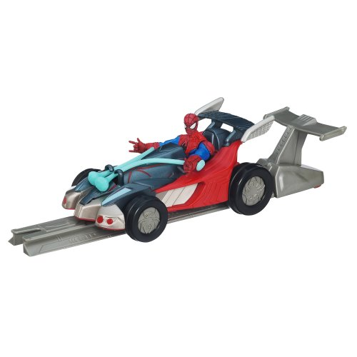 Marvel Ultimate Spider-Man Power Webs Spider Racer Vehicle