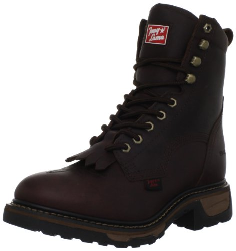Tony Lama Boots Men's Waterproof Pitstop TW2006 Work Boot,Briar Pitstop,9.5 D US