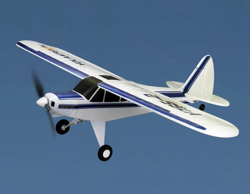 "Super Cub 2.4Ghz RTF 29"" WingSpan RC 3CH EPO Airplane Beginner Glider R/C Piper J-3 Trainer Plane V765-2 primary"