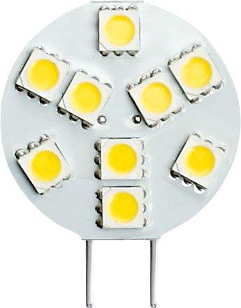 Gold Stars G4000500 Replacement Led Bulb G4 Base 100 Lums 12V Or 24V Natural White