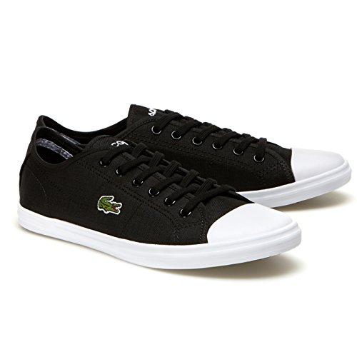 Lacoste Women's Ziane 316 2 Spw Blk Fashion Sneaker, Black, 8.5 M US