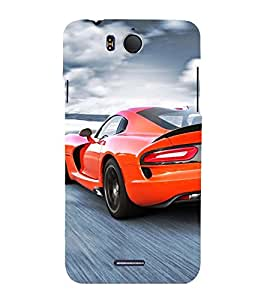 Vizagbeats sports car red Back Case Cover for Infocus M530