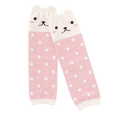 (チャックル) chuckle クマちゃんレッグウォーマー【ソックス:靴下】【日本製】 ピンク サイズなし E3296-00-20