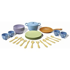 41bj0BOJJ%2BL. SL500 AA280  Green Toys Cookware and Dining Set