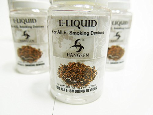 電子タバコ リキッド HANGSEN E-LIQUID タバコ風味 10ml 3個セット 全8種類 NO TAR ニコチン 0mg (Southeast County ケント)