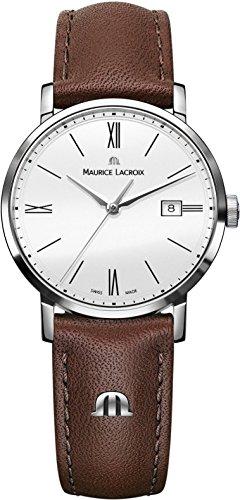Maurice Lacroix Eliros EL1084-SS001-111-2 Reloj de Pulsera para mujeres Plano & ligero