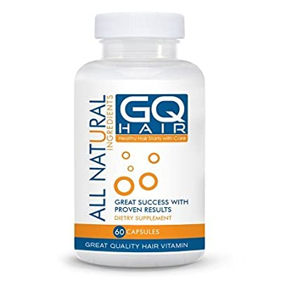 #1 Hair Vitamins - Promote Hair Growth with Saw Palmetto, Kelp & Silica - Hair Restoration for Shiny Hair, Fights Receding Hairlines and Thinning Hair - Alopecia Hair Loss Treatment for Men & Women - Stop Hair Loss - Hair Regrowth Hair Loss Vitamins