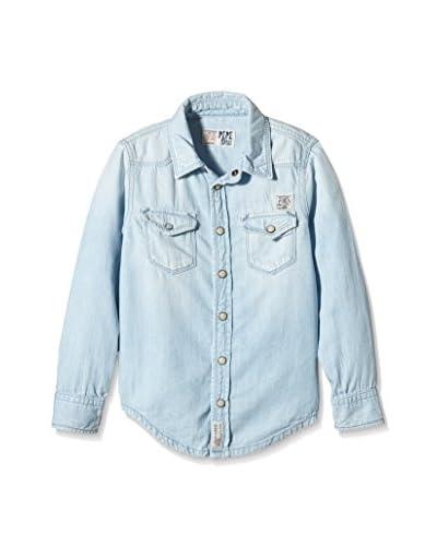 Pepe Jeans London Camicia Casual Henk [Blu Chiaro]