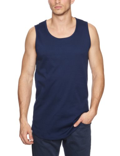 So Popular Tore Patterned Men's Tank Top