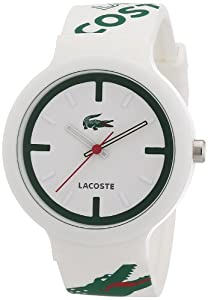 Amazon.com: Lacoste 2010522 White Goa Watch: Lacoste: Watches