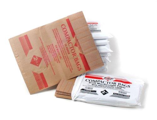 "Whirlpool 675186BULK 15"" Paper Compactor Bags - 96 Count"