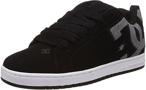 Dc Shoes Uomo, Sneakers, Court Graffik S M Shoe Bkz, Nero, 42