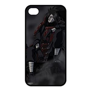 FindIt Japanese Anime Series Popular And Cool NARUTO Uchiha Madara Durable Rubber Case Cover For Iphone 4/4S