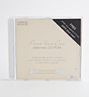 Print Your Own Wedding Stationery CD-ROM