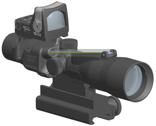 Trijicon Acog 3X30 Scope-Amber Chevron