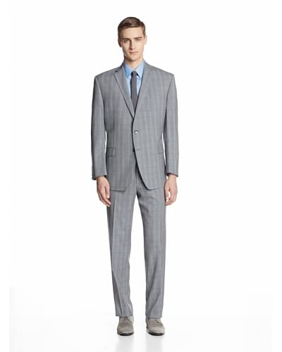 Calvin Klein Men's Malik Check Two Button Suit