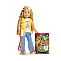 American Girl - Beforever Julie Doll & Paperback Book