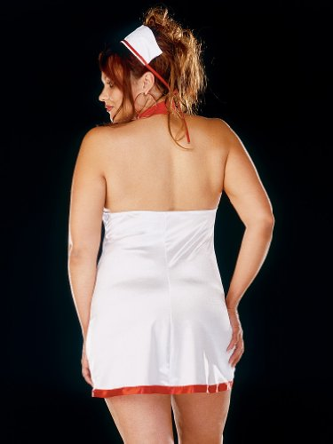 plus size sexy costume bedroom nurse costume sexy dress