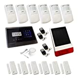 Sentry Pro Touch Screen Wireless GSM Auto Dial House Alarm - Solution 4 Solar