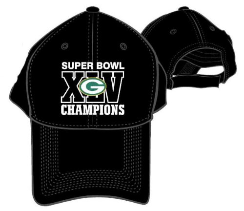 Green Bay Packers 2011 Super Bowl XLV Champions NFL Logo Cap Hat by Forever Collectibles