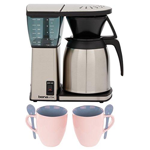 Bonavita BV1800SS 8 Cup Coffee Maker w/ Thermal Carafe + Accessory Kit