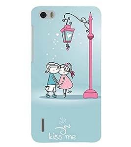PRINTSHOPPII CUTE LOVE CARTOON Back Case Cover for Huawei Honor 6