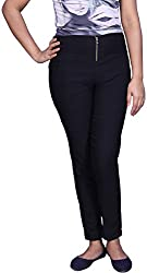 Unicraft Women's Cotton & Lycra Leggings (unicraft-030Black-Pant)